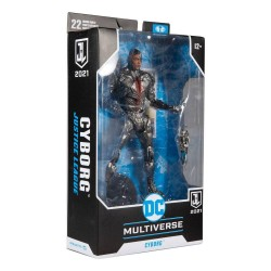 DC Justice League Movie figurine Cyborg 18 cm