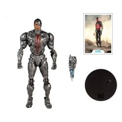 DC Justice League Movie figurine Cyborg 18 cm