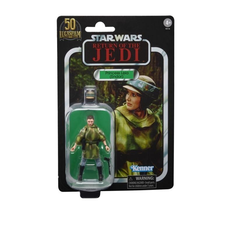 Figurine Star Wars Vintage Collection 10cm 50TH Princess Leia Endor