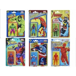 Figurine Marvel Universe Retro Wave 1 Set de 6 figurines 10cm