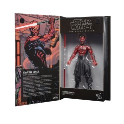 Figurine Star Wars Black Series 15cm 50th Darth Maul Apprenti Sith