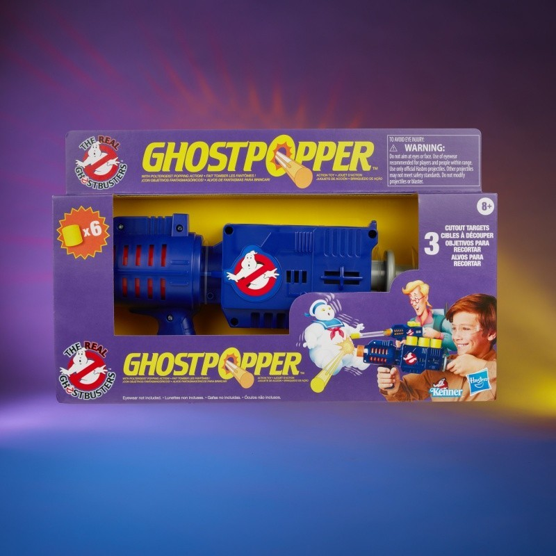 The Reel Ghostbusters Ghospopper Kenner Classics