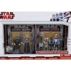 Star Wars The Clone Wars Commemorative Tin Collection 10cm 2010
