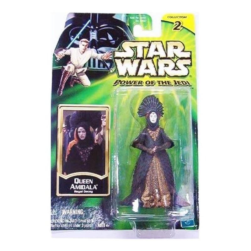 Figurine Star Wars POTJ 2002 10cm Queen Amidala Royal Decoy