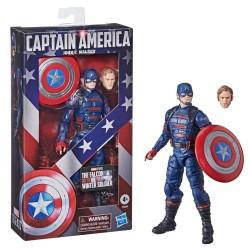 Falcon et le Soldat de l'Hiver Marvel Legends figurine 2021 Captain America (John F. Walker) 15 cm