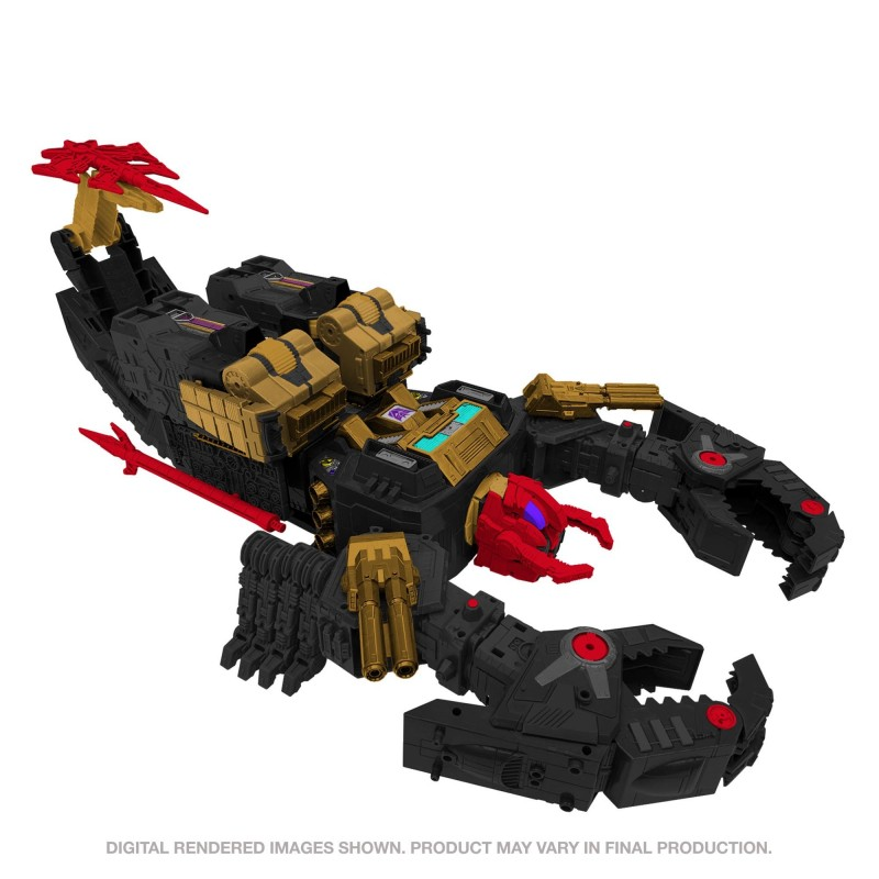 Transformers Generations Selects Titan Black Zarak 53cm