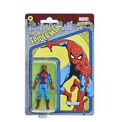 Figurine Marvel Legends Retro 10cm Spider-man