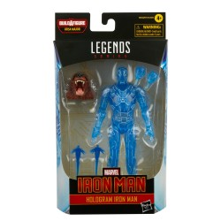 Figurine Marvel Legends 15cm Comic Legend Hologram Iron Man