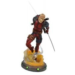 Marvel Gallery statuette Unmasked Deadpool 25 cm