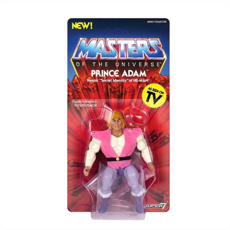 Masters of the Universe série 3 figurine Vintage Collection Prince Adam 14 cm