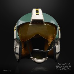 Star Wars The Black Series Casque Echelle 1/1 Wedge Antilles