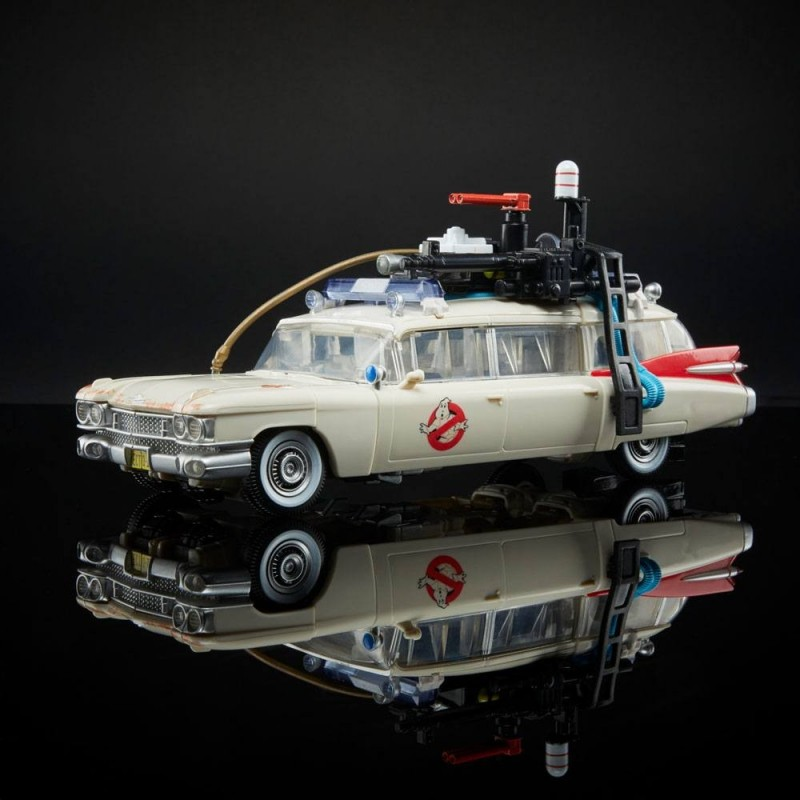 Transformers x SOS Fantômes : L'Héritage véhicule Ecto-1 Ectotron Hasbro Ghostbusters