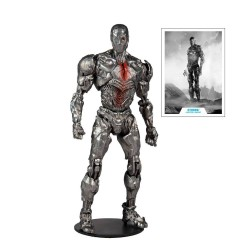 DC Justice League Movie figurine Cyborg (Helmet) 18 cm