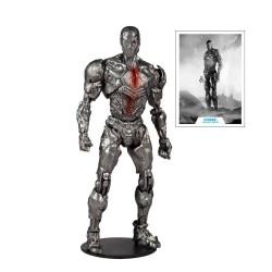 DC Justice League Movie figurine Cyborg (Helmet) 18 cm