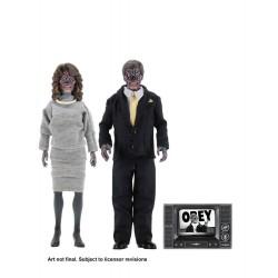 Invasion Los Angeles pack 2 figurines Retro Aliens 20 cm