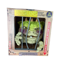 Les Boglins marionnette King Drool Gold Horned 17 cm  First Edition