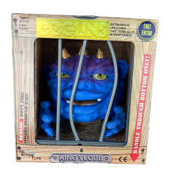 Les Boglins marionnette King Vlobb Gold Horned 17 cm  First Edition