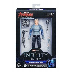 The Infinity Saga Marvel Legends Series figurine 2021 Quicksilver (Avengers: Age of Ultron) 15 cm