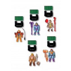 Masters of the Universe pack 5 figurines Mega Construx Probuilder Bataille pour Eternia