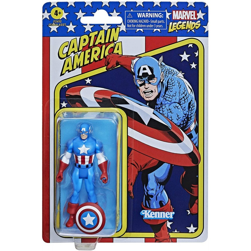 Figurine Marvel Universe Retro 10cm - Captain America