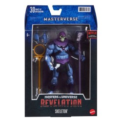 Masters of the Universe: Revelation Masterverse 2021 figurine Skeletor 18 cm