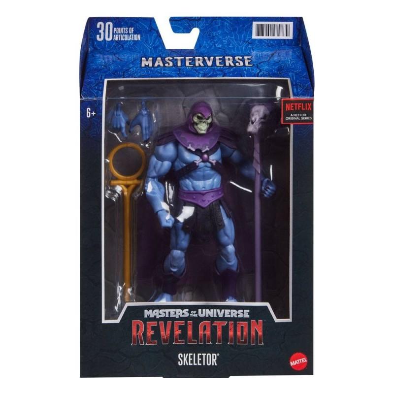 Masters of the Universe: Revelation Masterverse 2021 figurine Skeletor 18 cm