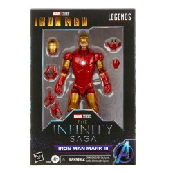 Figurine Marvel Legends Infinity 15cm Iron Man Mark 3
