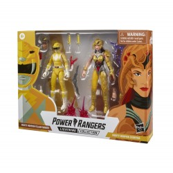 Power Rangers Lightning Collection 2-pack 15cm MM Yellow Ranger & MM Scorpina