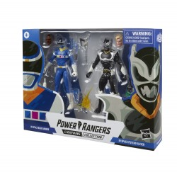 Power Rangers Lightning Collection 2-pack 15cm In Space Blue Ranger & In Space Psycho Silver