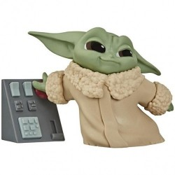 Star Wars The Mandalorian Figurine Child 5cm  Child  Et Panneau de Controle