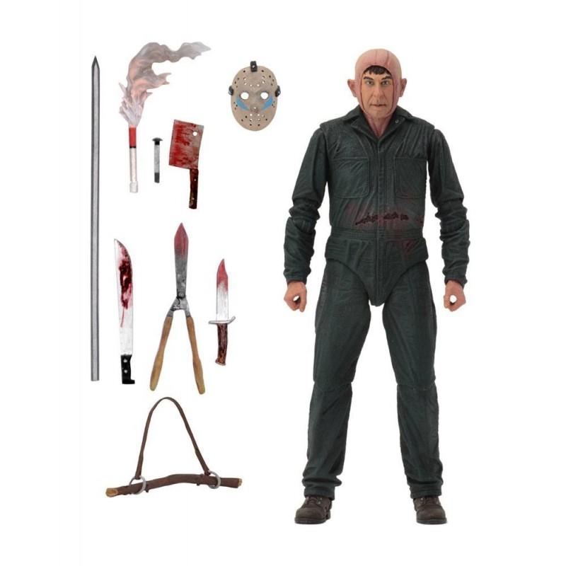 Vendredi 13 chapitre 5 figurine Ultimate Roy Burns 18 cm