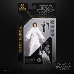 "Figurine Star Wars Black Series 6"" Archive wave 3 Princess Leia Organa"