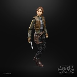 "Figurine Star Wars Black Series 6""  Jyn Erso"