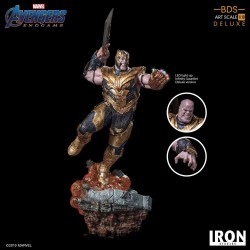 Avengers Endgame statuette BDS Art Scale 1/10 Thanos Deluxe Version 36 cm