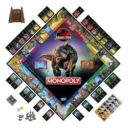 Jurassic Park jeu de plateau Monopoly Version Française