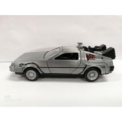 Retour vers le Futur DeLorean Time Machine 1/32 métal Hollywood Rides