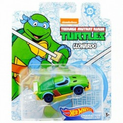 Hot Wheels Voiture 1/64 Les Tortues Ninja Leonardo