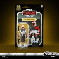 Star Wars Vintage Collection 50TH TCW Arc Trooper Captain 10cm