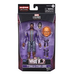 Figurine Marvel Legends 15cm What If ?  T'challa Star-Lord