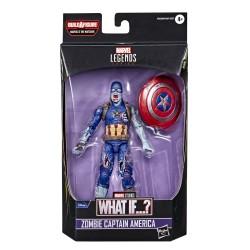 Figurine Marvel Legends 15cm What If ?  Zombie Captain America