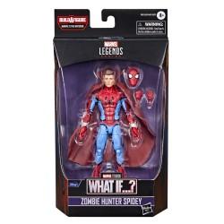 Figurine Marvel Legends 15cm What If ? Zombie Hunter Spidey