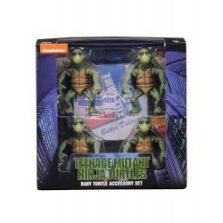 Les Tortues ninja pack 4 figurines 1/4 Baby Turtles 10 cm