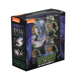 Les Tortues ninja pack 4 figurines 1/4 Baby Turtles 10 cm Neca Les Tortues Ninja