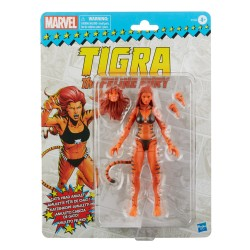 Figurine Marvel Legends Retro 15cm Tigra The Feline Fury