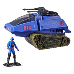G.I. Joe Retro Collection Series véhicule avec figurine Cobra H.I.S.S. III & Rip It