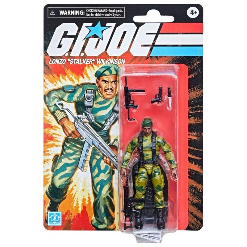 G.I. Joe Retro Collection Series 2021 10cm Lonzo Stalker