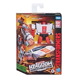 Transformers Generations War For Cybertron: Kingdom figurine Deluxe Class 2021 Red Alert 14 cm