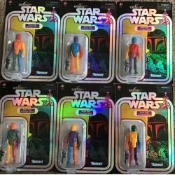 Set De 6 figurines Star Wars Retro Collection figurine 2021 Multi-Colored Boba Fett Prototype Edition 10 cm