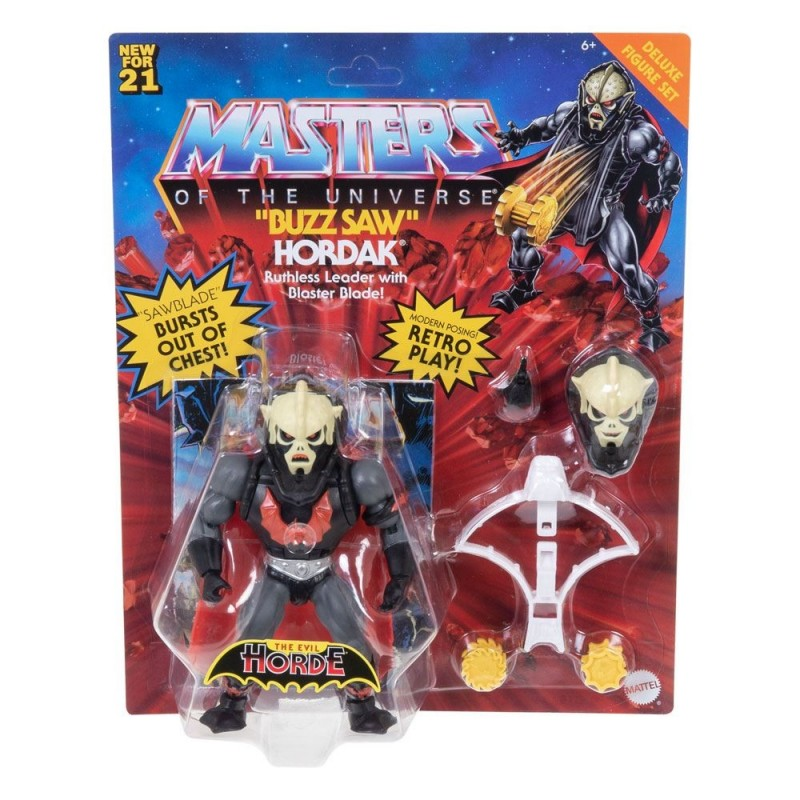 Masters of the Universe Deluxe 2021 figurine Buzz Saw Hordak 14 cm