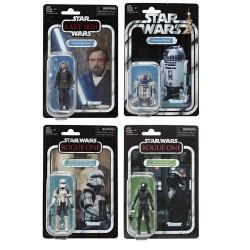 Star Wars Vintage Collection Wave 7 Luke Skywalker , r2-d2 , HoverTank & Death Star Gunner